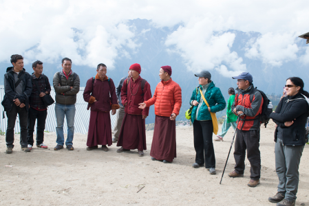 Volunteers and organizers of the Humla Medical Service Trip.